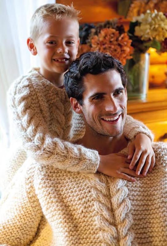Lana Grossa Men's Raglan Pullover LEI
