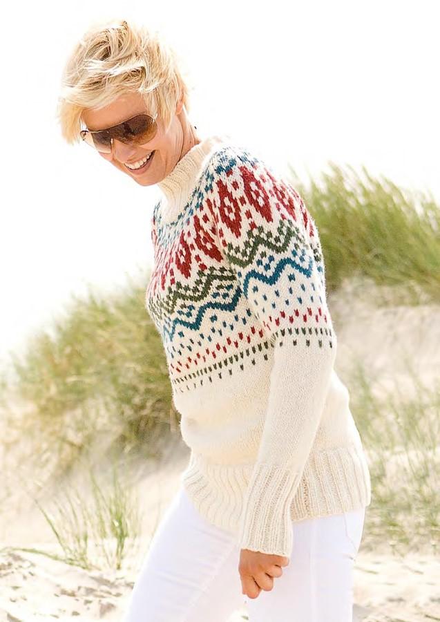 Lana Grossa Sweater ALTA MODA ALPACA