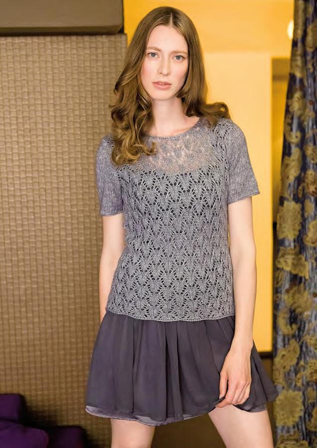 Lana Grossa Lace Sweater Lace Lux Filati Handstrick No 45