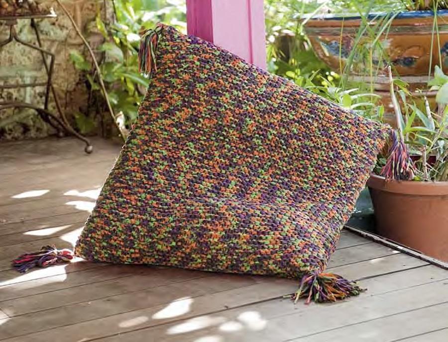 Lana Grossa Pillow Cover PARADISO Print
