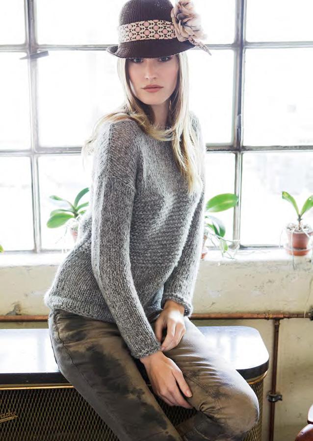 Lana Grossa Boat Neck Sweater Garzato Pi Filati Handstrick No 50