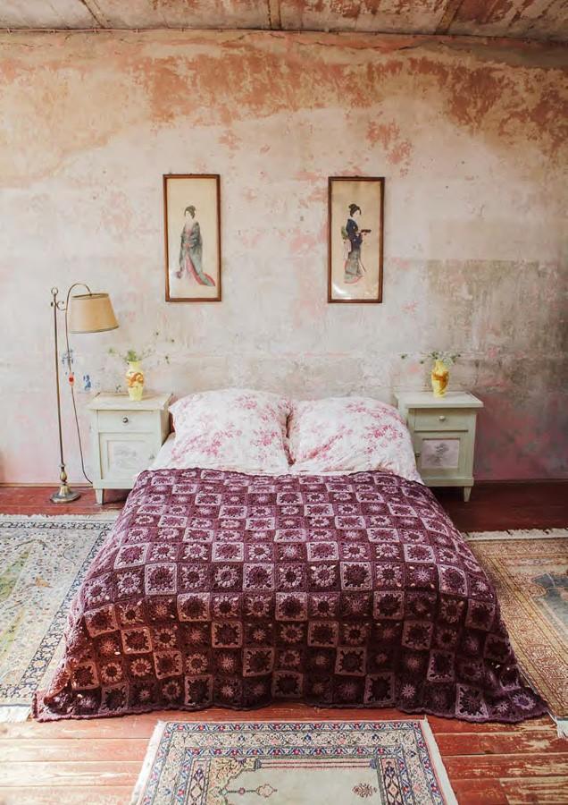 Lana Grossa CROCHET COVERLET Royal Tweed