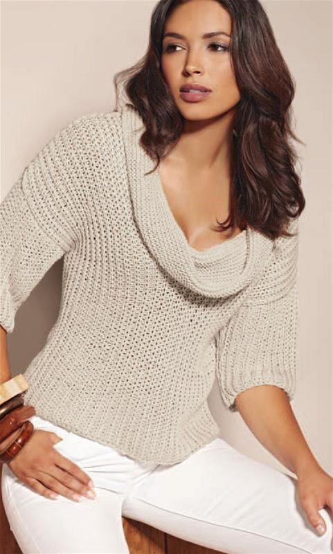 Lana Grossa Organico Short Arm Sweater