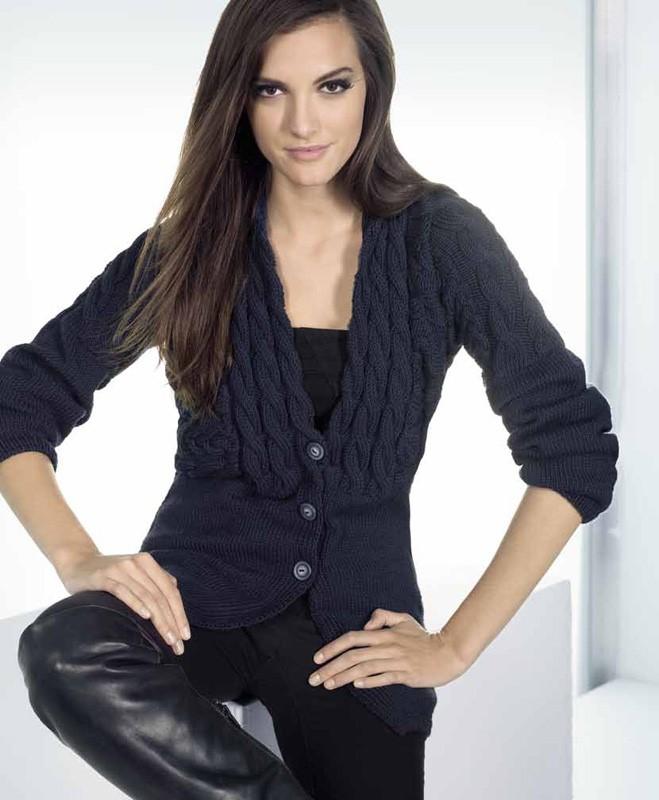 Lana Grossa Cool Wool Big Melange Jacket