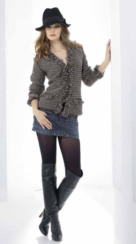 Lana Grossa Royal Tweed Jacket