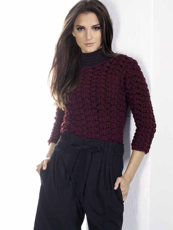 Lana Grossa Cool Wool Melange Pullover