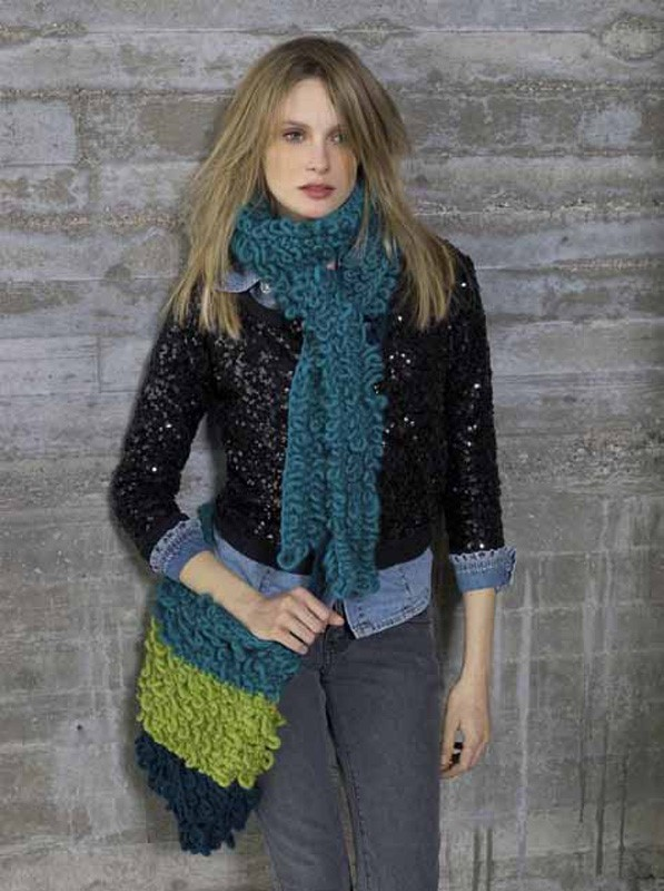 Lana Grossa Scarf and bag LEI