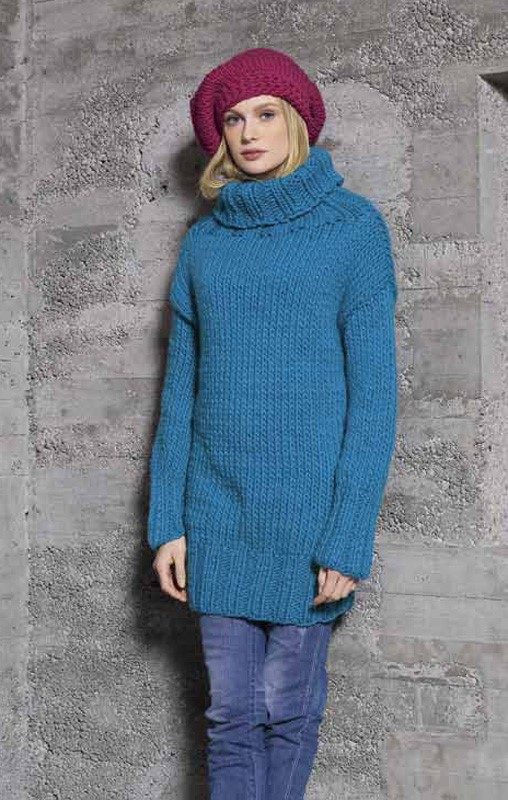 Lana Grossa Turtleneck Sweater LEI