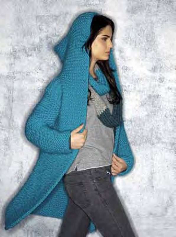 Lana Grossa Coat with Hood LEI