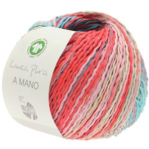 Lana Grossa A MANO (Linea Pura) | 13-rose/coral/turquoise/mint/white