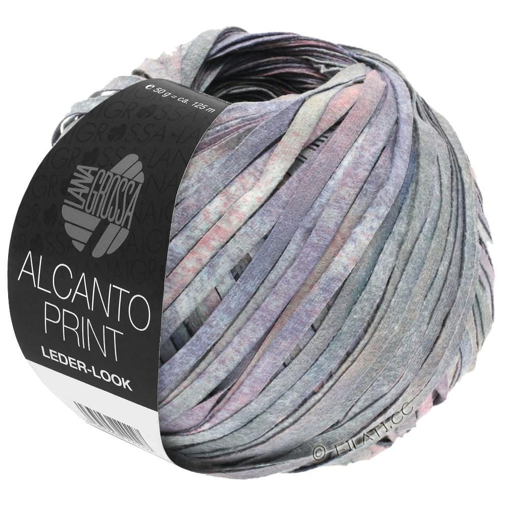 Lana Grossa ALCANTO Print   104-gray/lilac/rose