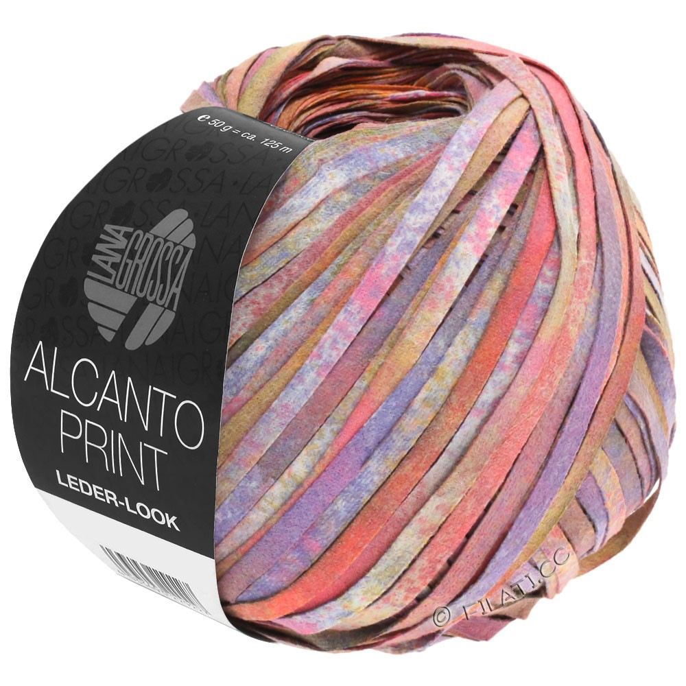 Lana Grossa ALCANTO Print   106-rose/purple/brown