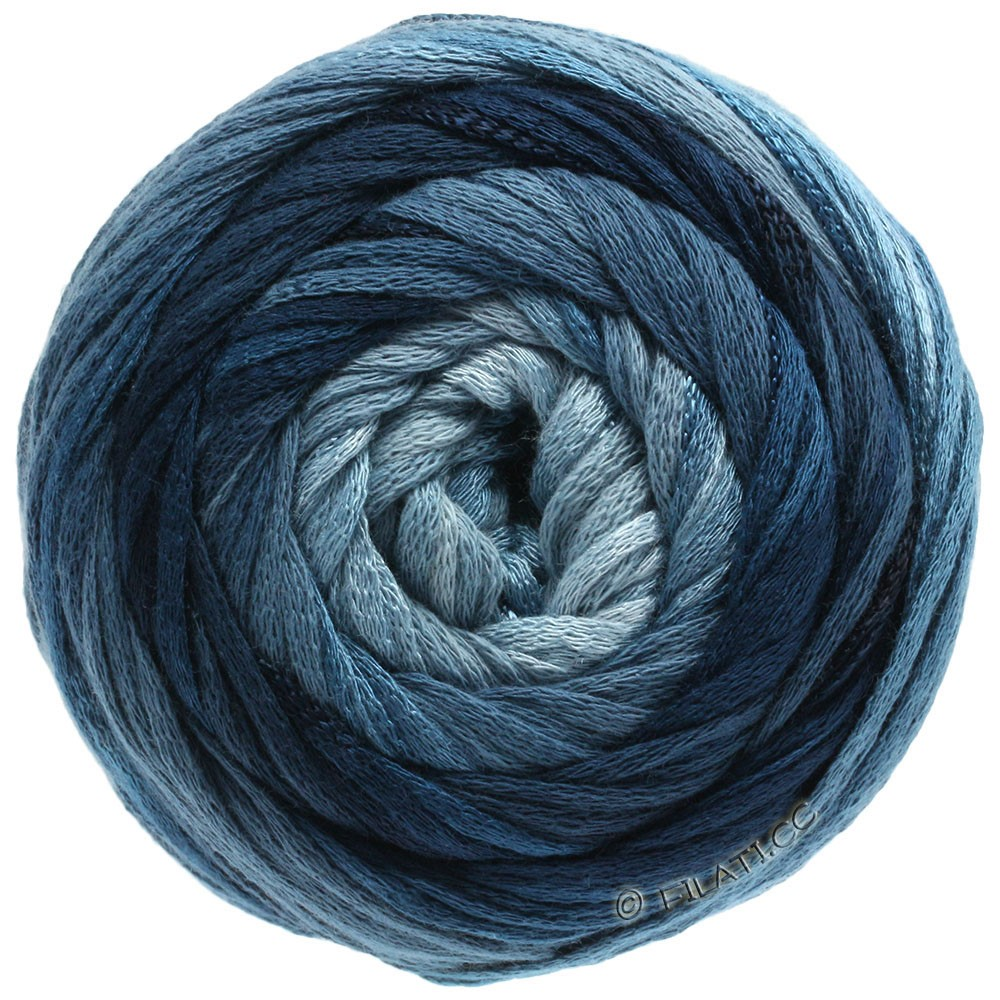 Lana Grossa ALLEGRO Degradé | 206-light blue/gray/petrol green/dark petrol