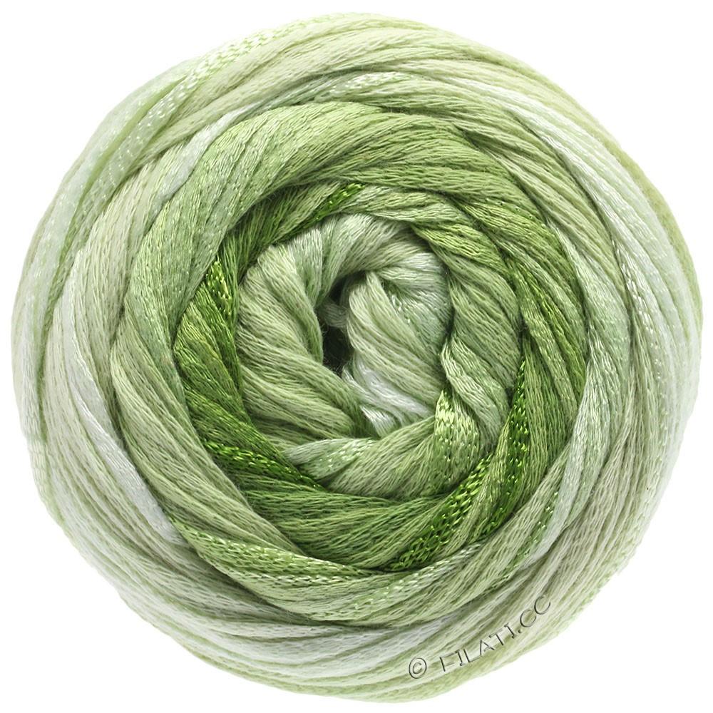 Lana Grossa ALLEGRO Degradé | 207-natural/subtle green/light green/leaf green/olive green