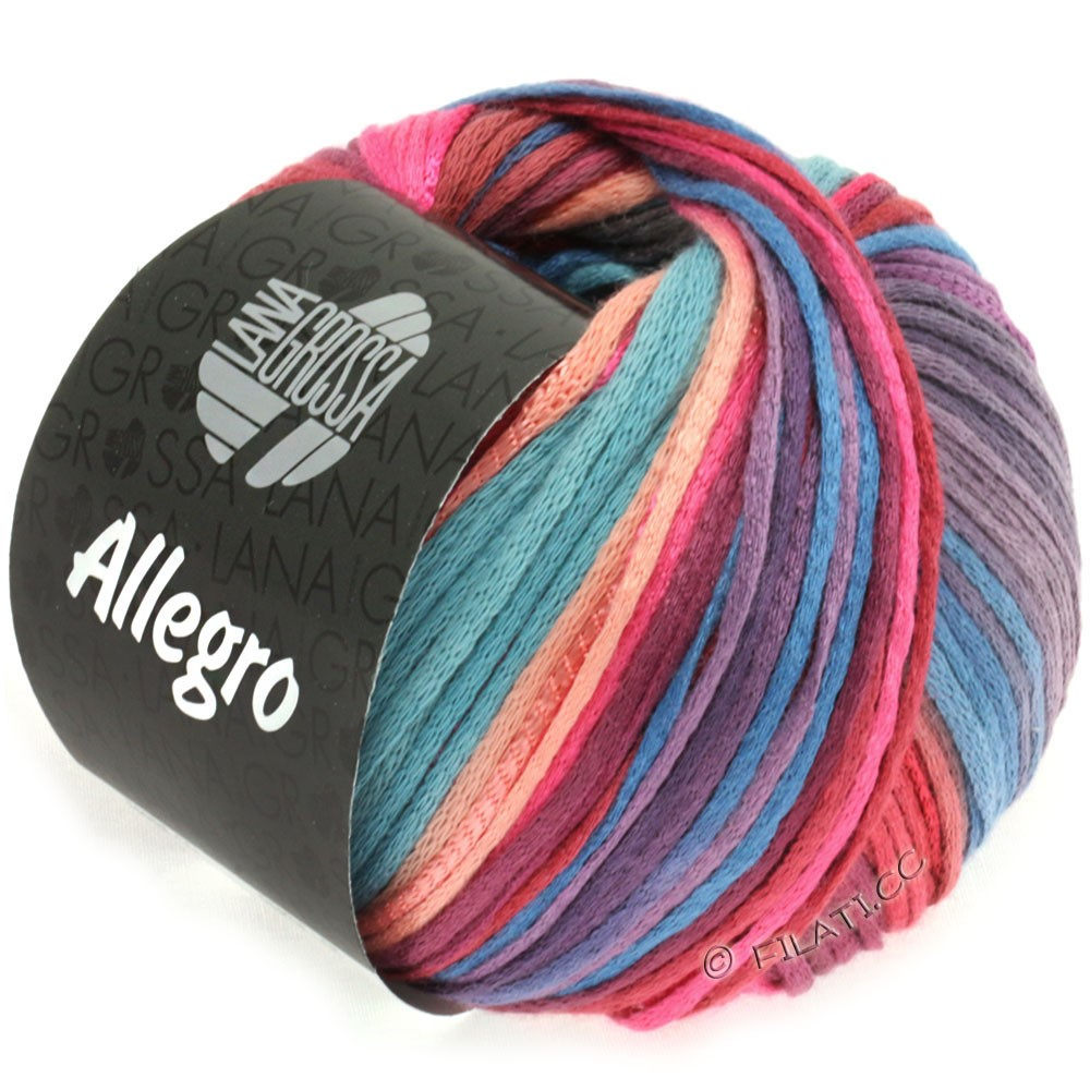 Lana Grossa ALLEGRO | 012-pink/salmon/purple/gray blue