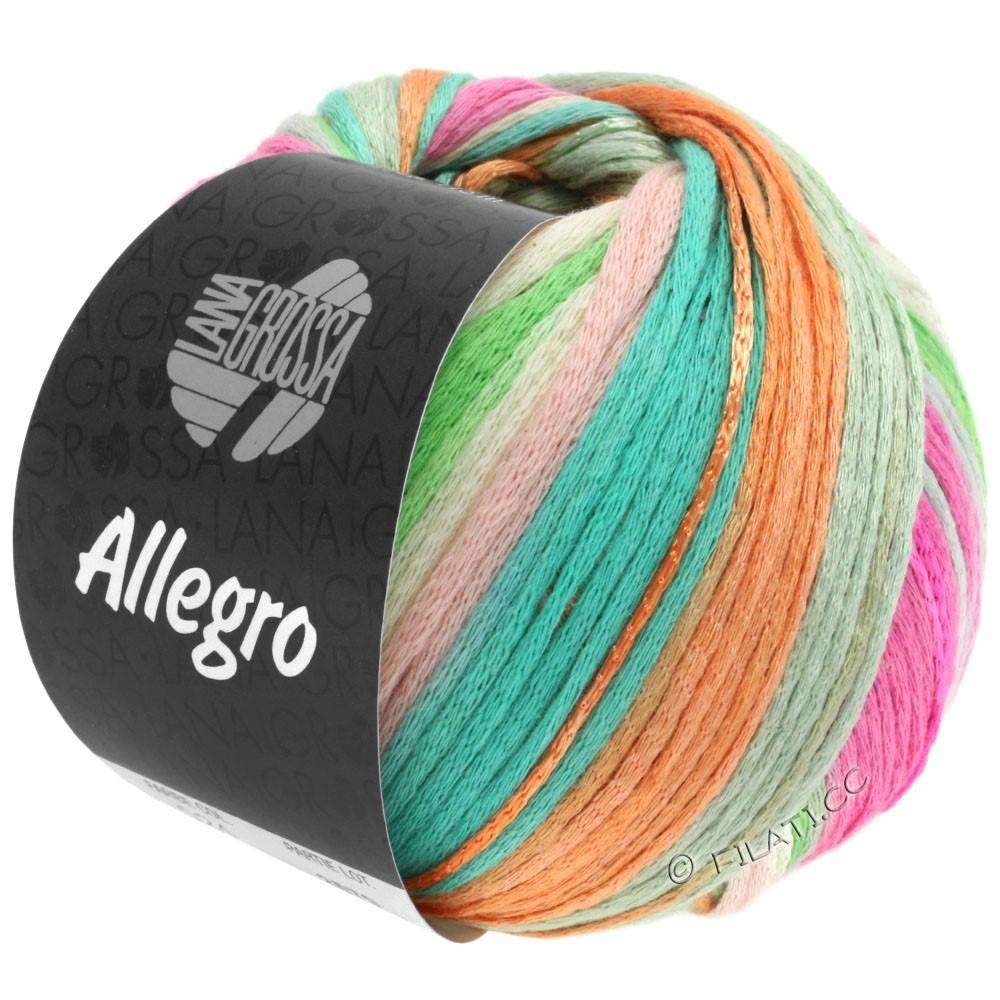 Lana Grossa ALLEGRO | 024-subtle rose/beige/pastel green/turquoise/peach