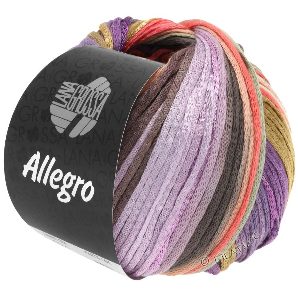 Lana Grossa ALLEGRO   030-purple/salmon/beige/natural/lilac/taupe/light gray