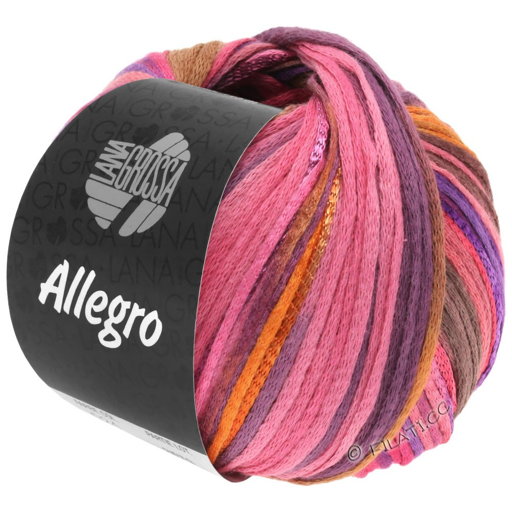 Lana Grossa ALLEGRO   031-pink/orange/purple/cinnamon