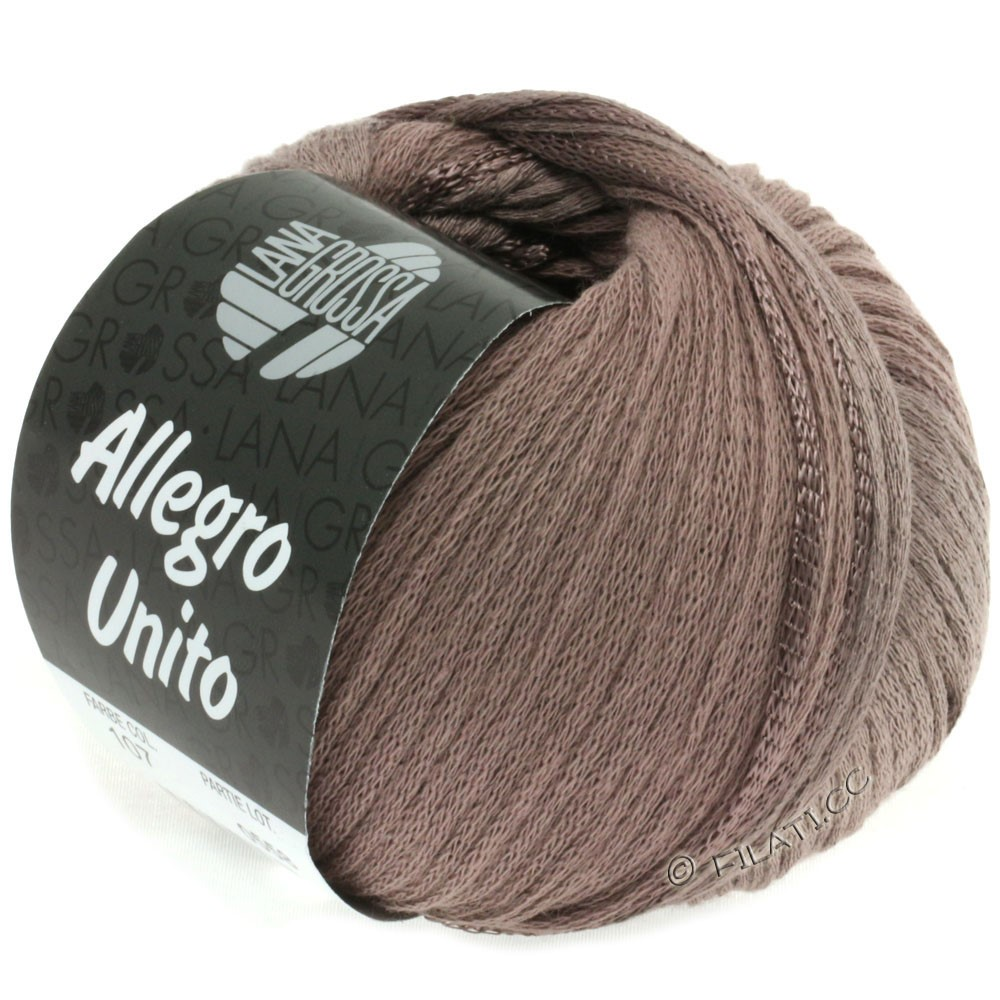 Lana Grossa ALLEGRO | 107-gray brown