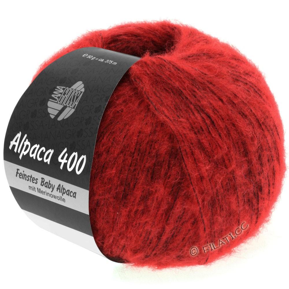 Lana Grossa ALPACA 400 | 08-red