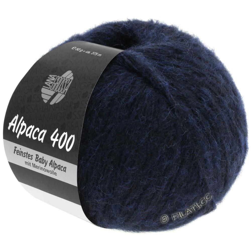 Lana Grossa ALPACA 400 | 10-night blue