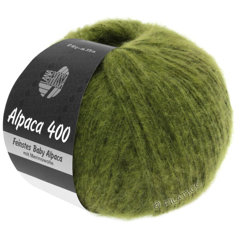 Lana Grossa ALPACA 400 | 11-olive green