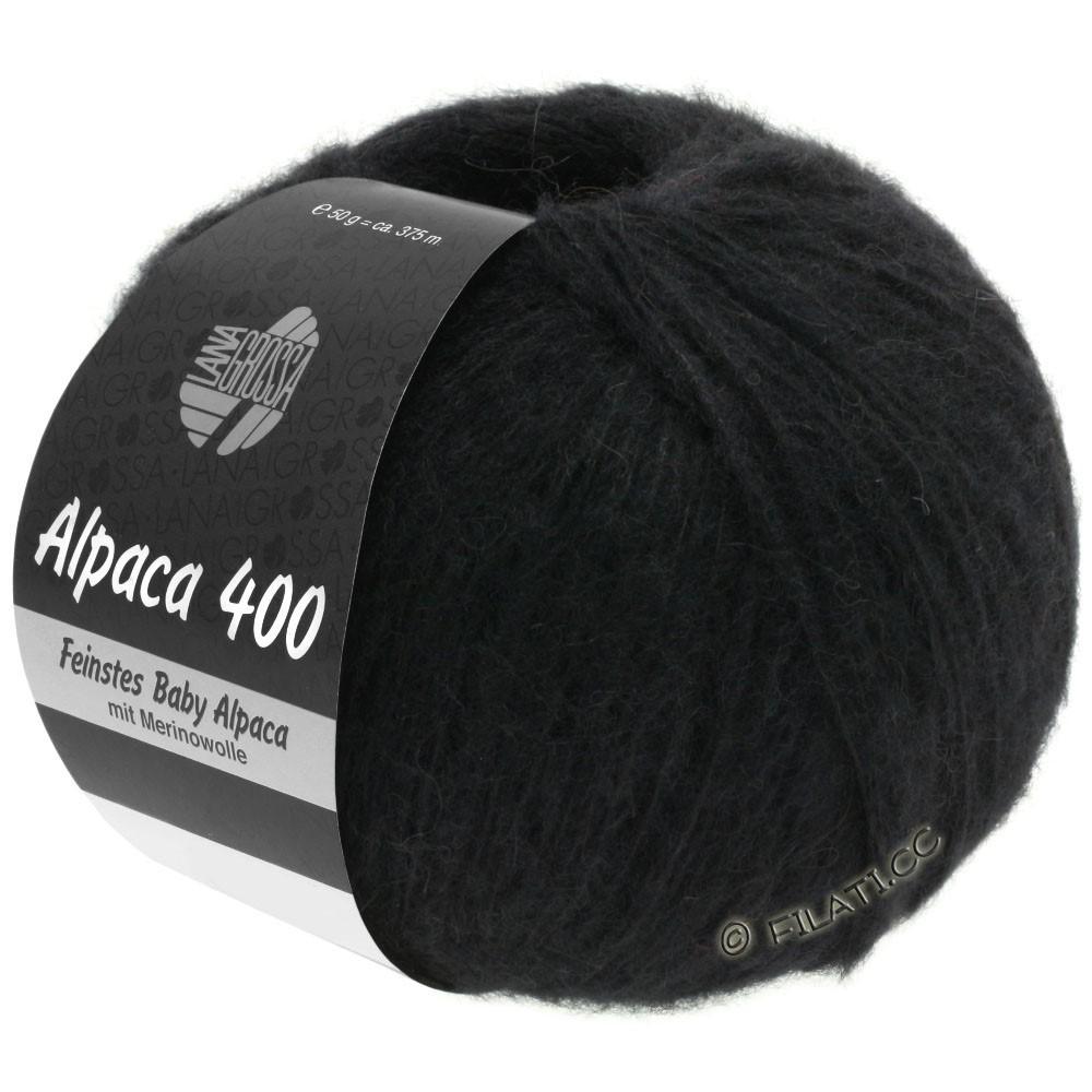 Lana Grossa ALPACA 400 | 12-black