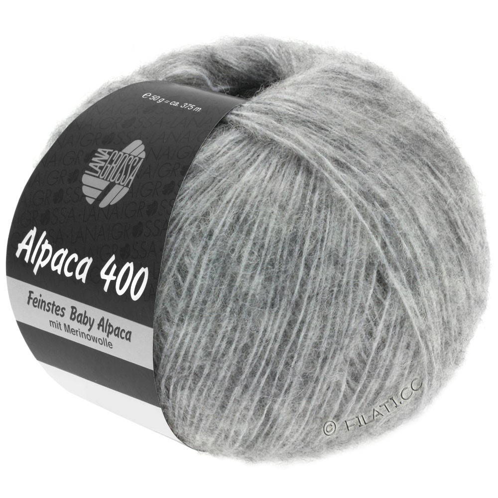 Lana Grossa ALPACA 400 | 14-light gray