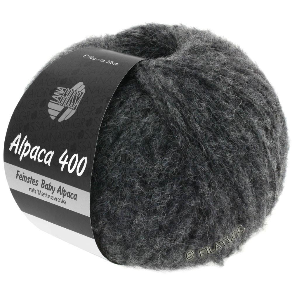 Lana Grossa ALPACA 400 | 15-anthracite