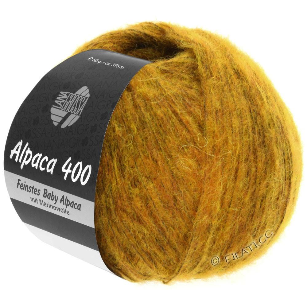Lana Grossa ALPACA 400 | 18-amber