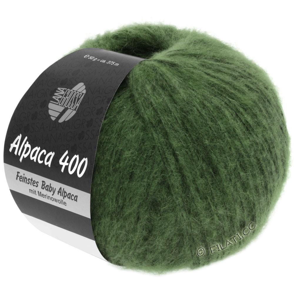 Lana Grossa ALPACA 400 | 19-dark green