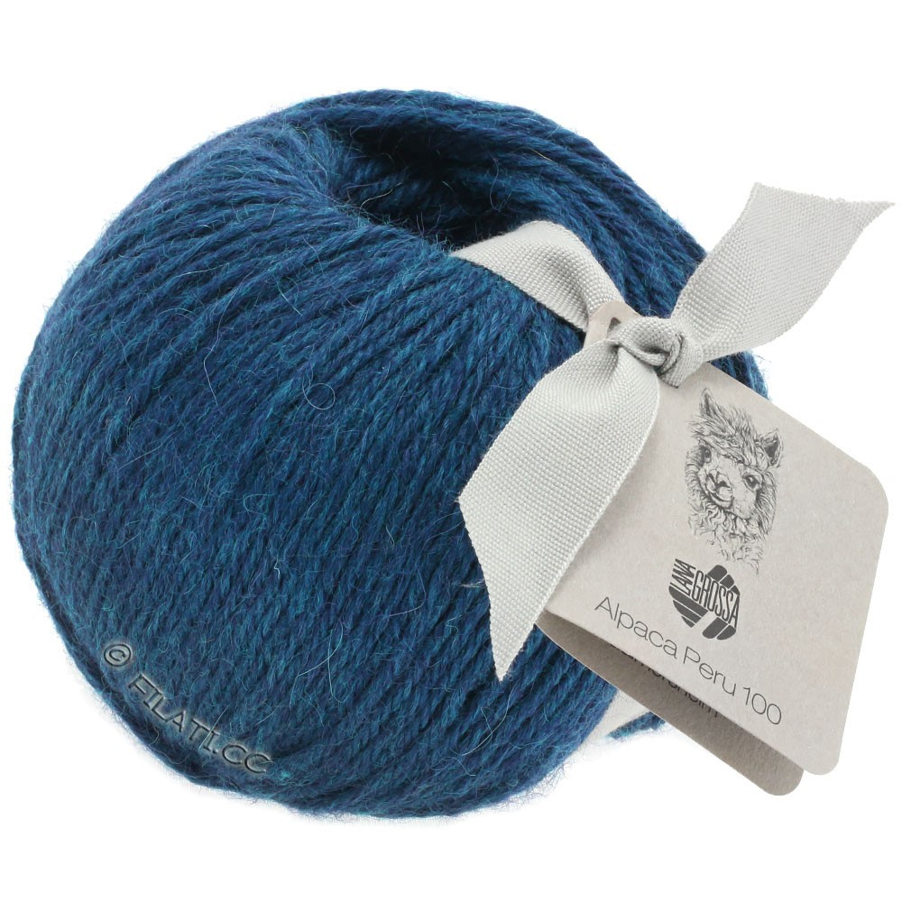 Lana Grossa ALPACA PERU 100 | 107-dark blue