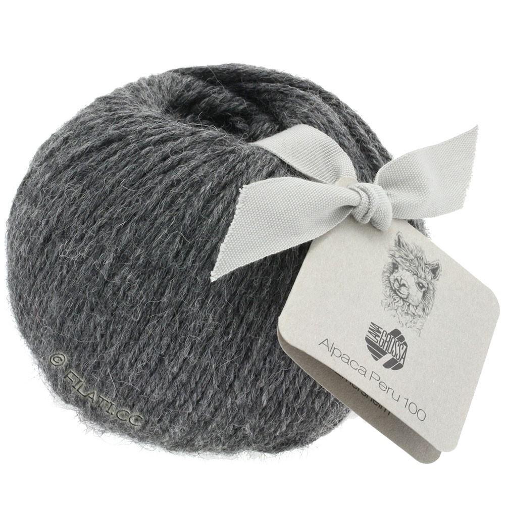 Lana Grossa ALPACA PERU 100 | 117-dark gray