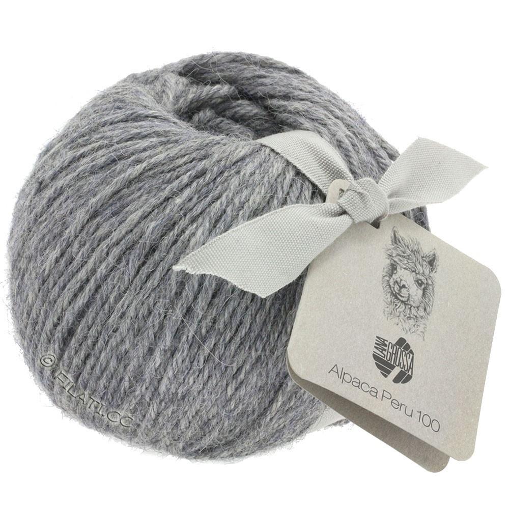 Lana Grossa ALPACA PERU 100 | 118-light gray