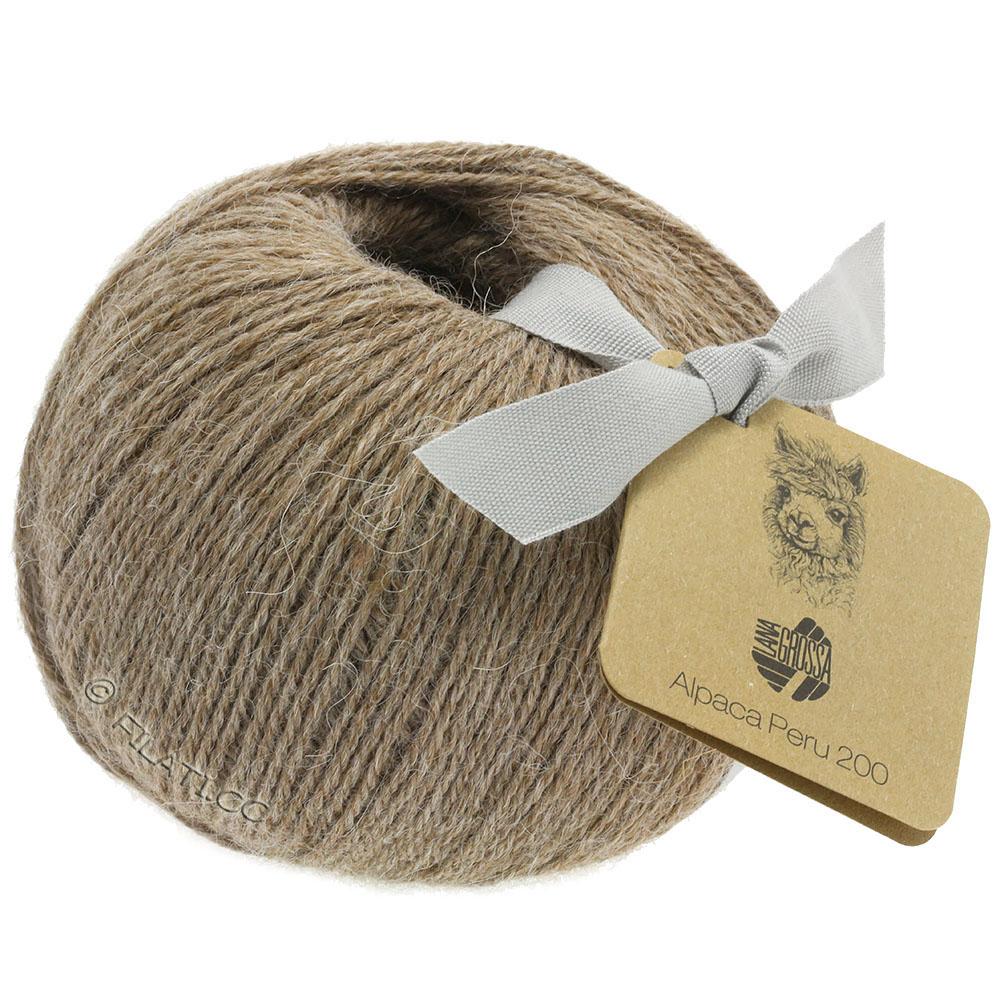 Wolle Kreativ Lana Grossa 219 weiß 50 g Fb Alapaca Peru 200