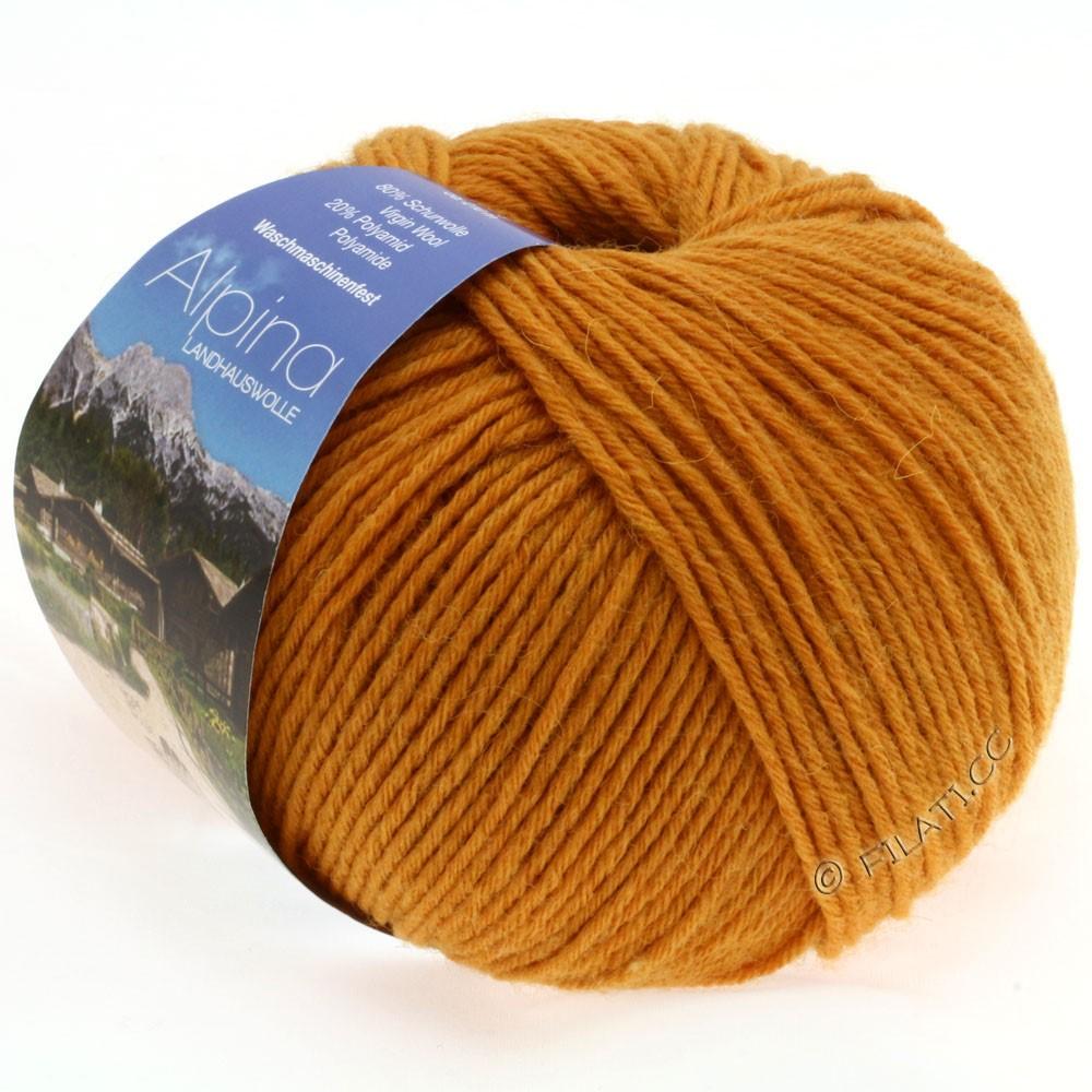 Lana Grossa ALPINA Landhauswolle | 19-saffron yellow