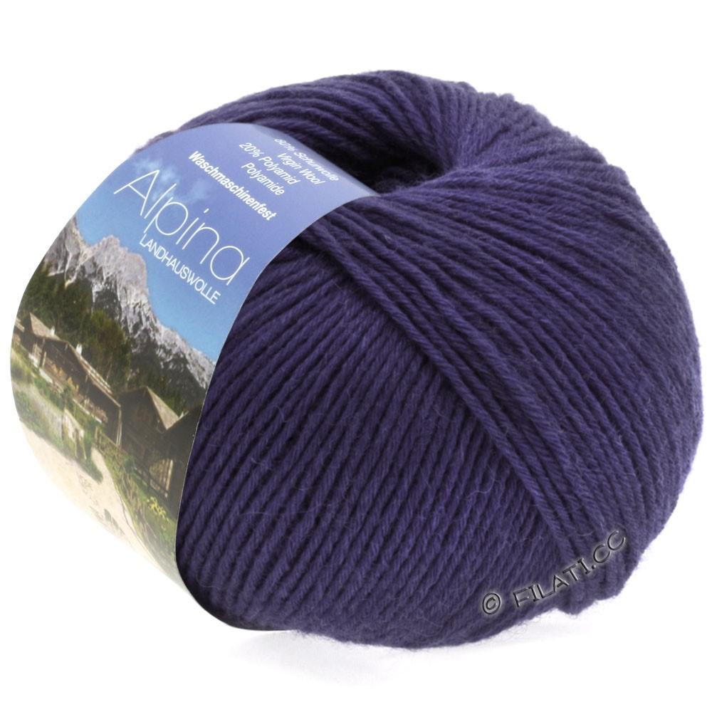 Lana Grossa ALPINA Landhauswolle | 30-dark violet