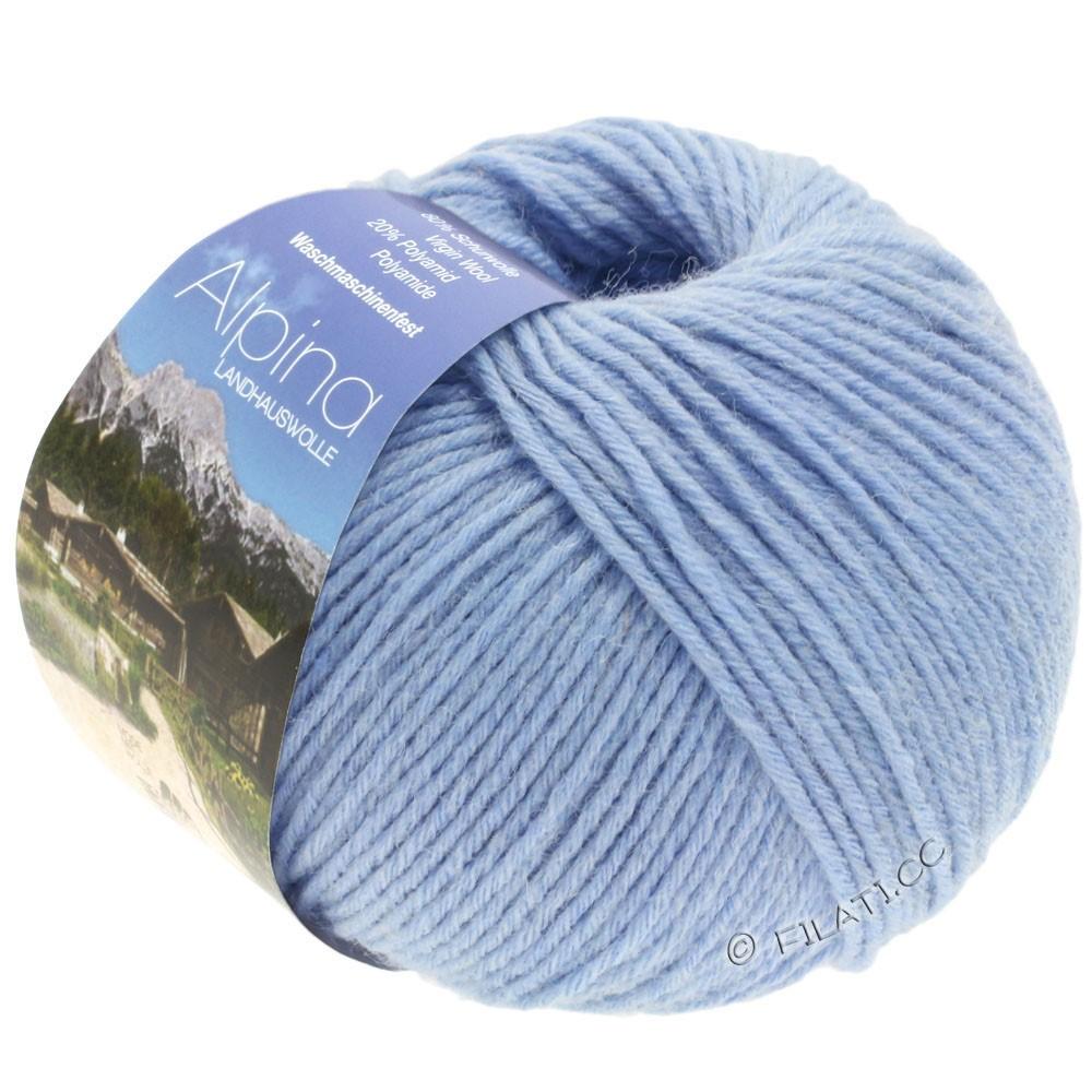 Lana Grossa ALPINA Landhauswolle | 37-light blue