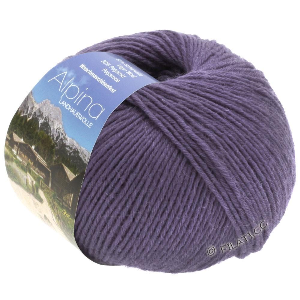 Lana Grossa ALPINA Landhauswolle | 41-dark violet