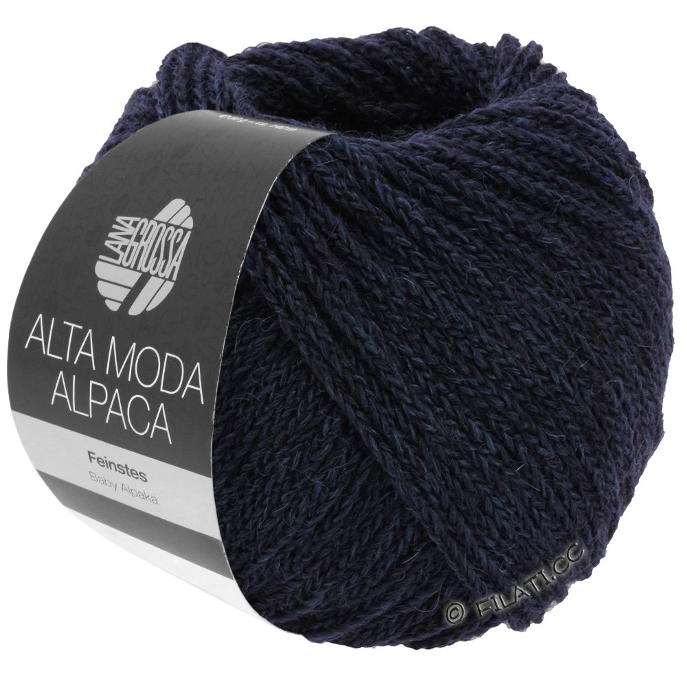 Lana Grossa ALTA MODA ALPACA | 05-night blue