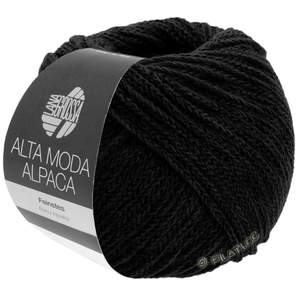Lana Grossa ALTA MODA ALPACA | 06-black
