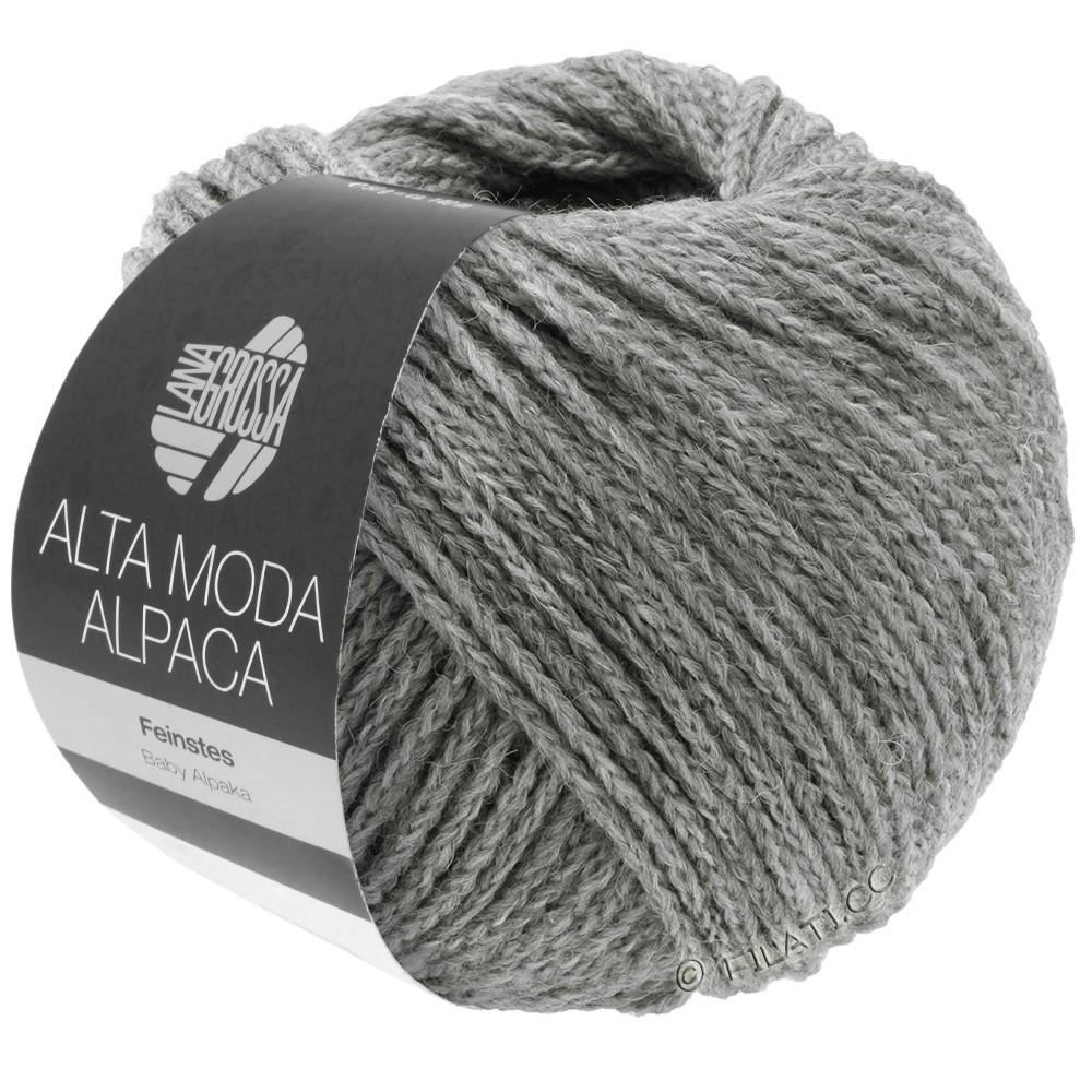 Lana Grossa ALTA MODA ALPACA | 12-light gray mottled