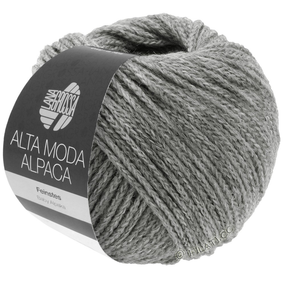 Lana Grossa ALTA MODA ALPACA | 12-light gray mottled