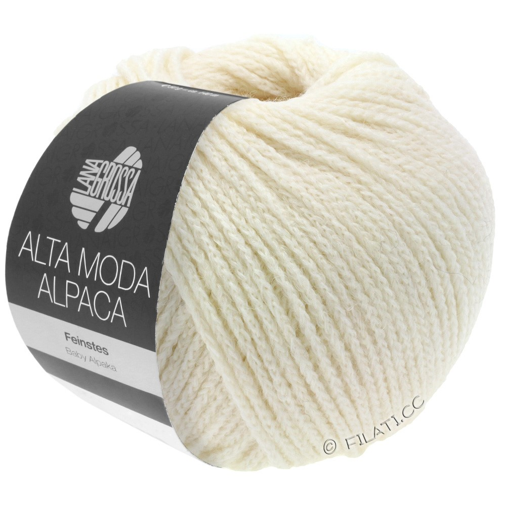 Lana Grossa ALTA MODA ALPACA | 14-raw white