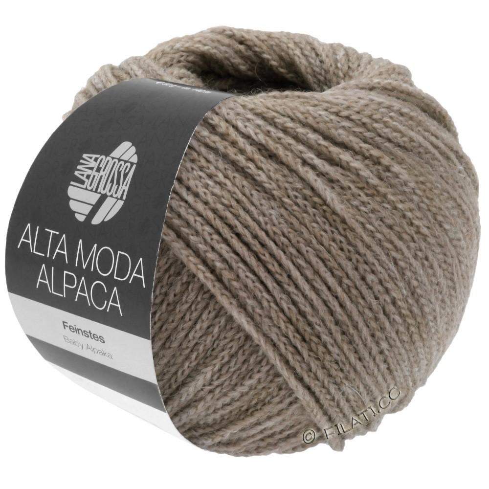 Lana Grossa ALTA MODA ALPACA | 15-gray/beige mottled