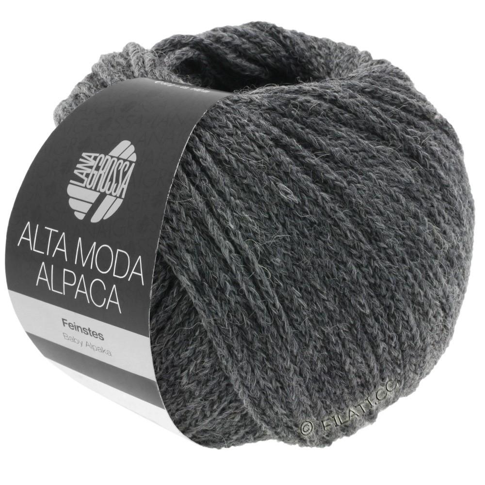 Lana Grossa ALTA MODA ALPACA | 22-dark gray mix