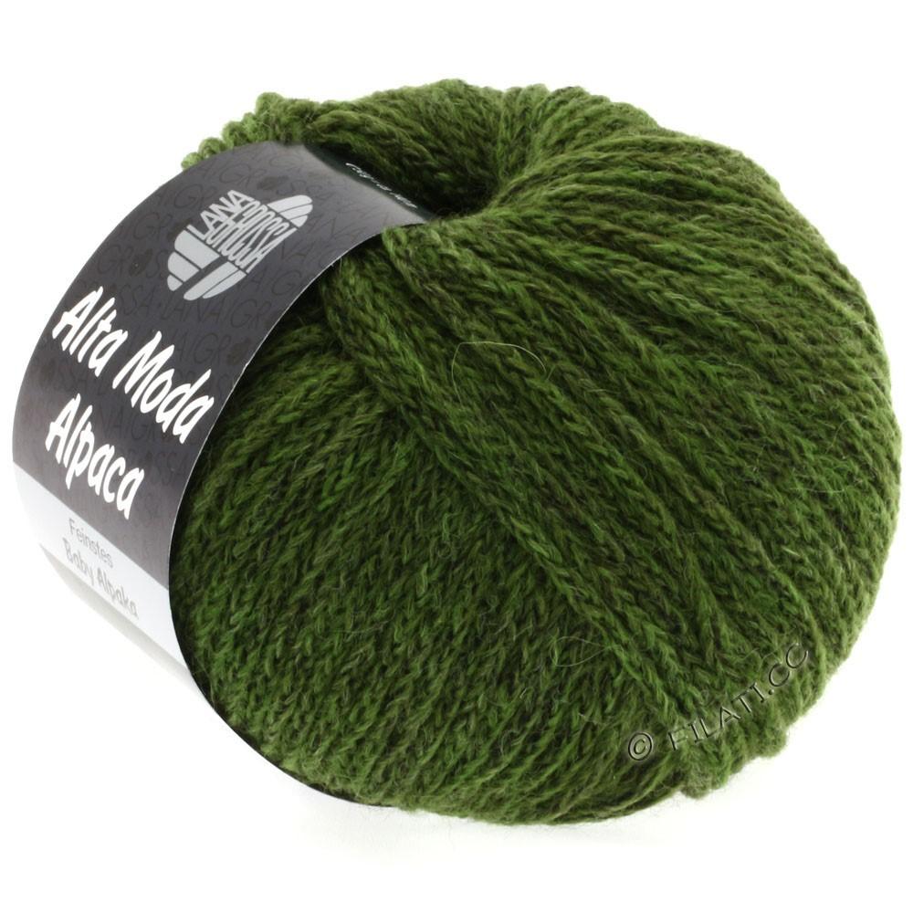 Lana Grossa ALTA MODA ALPACA | 28-dark green mottled