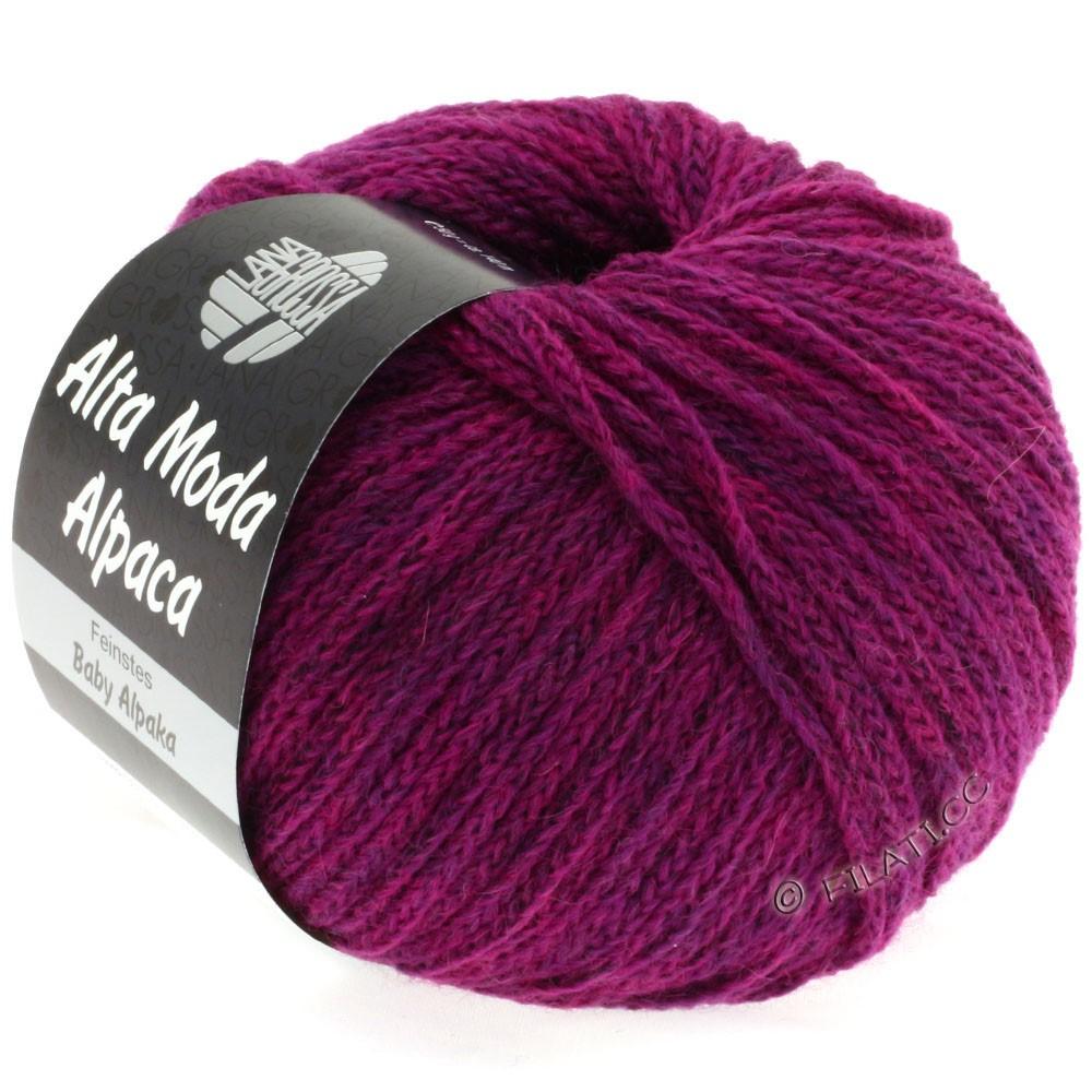 Lana Grossa ALTA MODA ALPACA | 33-red violet mottled