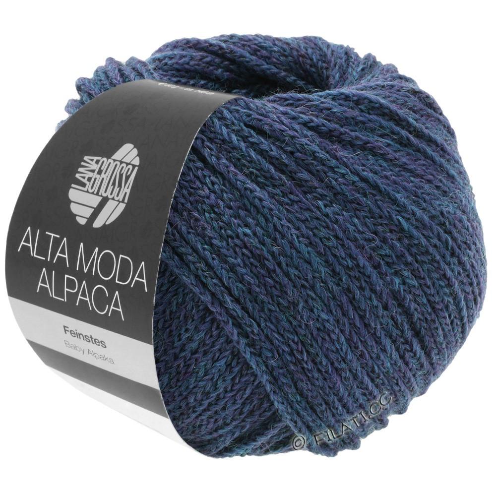 Lana Grossa ALTA MODA ALPACA | 36-petrol/royal mottled