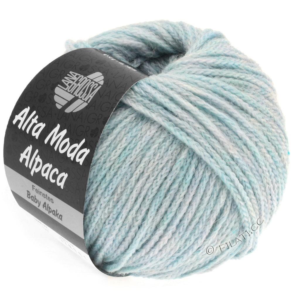 Lana Grossa ALTA MODA ALPACA | 47-light blue mottled